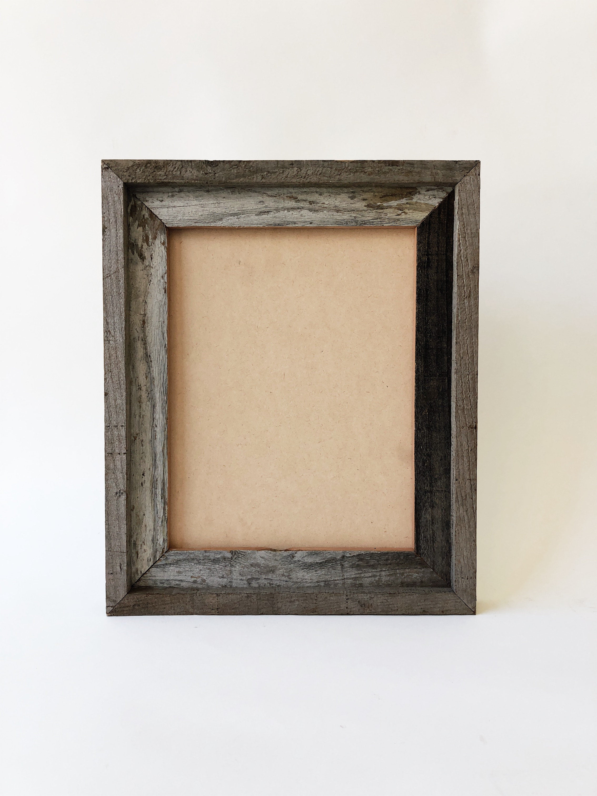 Reclaimed Wood Double Picture Frame 85x11